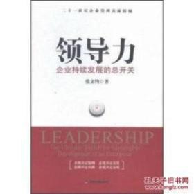 领导力企业持续发展的总开关