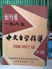 中文自学指导1985创刊号.