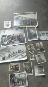 文革时期老照片14张合售
