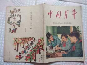 五六十年代老杂志《中国青年》18本,封面封底插图漂亮,每本都拍了照片。