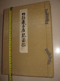 日本精品画册  1935年《竹轩蔵品展览观图录》(当时为非卖品)收录396幅作品 日本中国朝鲜等绘画陶瓷作品 大尺寸30.5x20cm厚5.5cm.重3.3KG