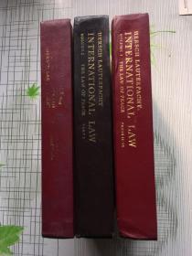 国际法:第1卷总论  第2卷  平时法  第1部分  第3卷  平时法  第2到6部分(3本合售英文版。精装)