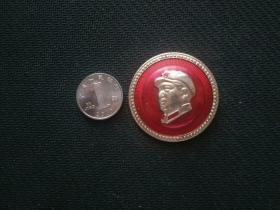 毛主席像章,毛主席诞辰1226——1988