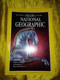 NATIONAL GEOGRAPHIC 美国国家地理1980年VOL158 1 VOL157,NO2-3共3期