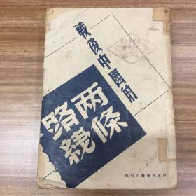 战后中国的两条路线