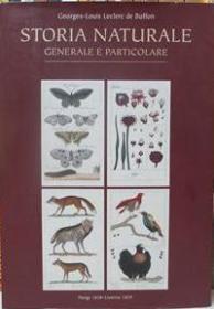 Storia Naturale: Generale E Particolare