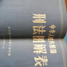 中华人民共和国刑法图解表