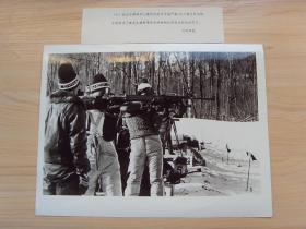 超大尺寸:1983年 第五届全国冬季运动会,图为步枪射击比赛