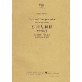 法律与解释:法哲学论文集