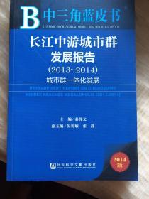 长江中游城市群发展报告. 2013~2014. 城市群一体化发展. 2013-2014
