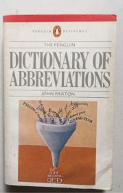 THE PENGUIN DICTIONARY OF ABBREVIATIONS(英文原版,平装本)