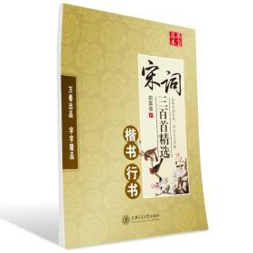 华夏万卷字帖 宋词三百首精选:楷书 行书