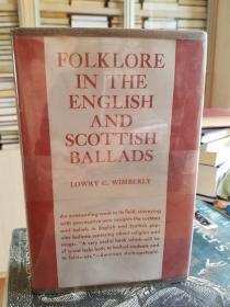 Folklore in the English & Scottish ballads