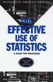 The Effective Use Of Statistics: A Practical Guide For Managers (cima Pilot Papers)
