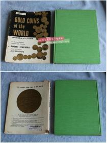 英文原版 世界金币Gold coins of the world Complete from 600 A.D. to the present