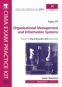 Cima Exam Practice Kit: Organisational Management And Information Systems (cima Official Exam Practi
