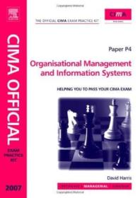 Cima Exam Practice Kit Organisational Management And Information Systems  Third Edition: 2007 (cima