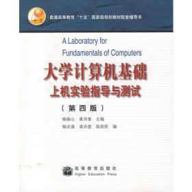 大学计算机基础上机实验指导与测试