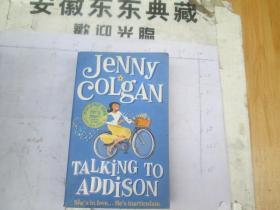 Talking to Addison by Jenny Colgan (外文书,自己看)