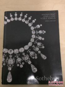 Sothebys 苏富比 MAGNIFICENT JEWELS AND NOBLE JEWELS华丽的珠宝和高贵的珠宝