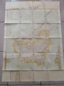 康德九年地图        ボルネオ岛      满洲帝国测量局