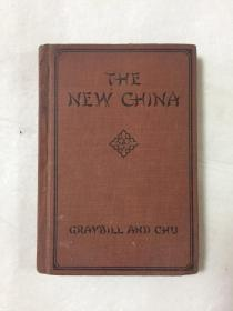 【民国英文书】The New China(新中国)    1930年美国原版,大量当时中国风景民俗建筑地图等历史照片   精装  稀见 品好