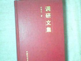 调研文集 陈俊生农村调研实践和体会