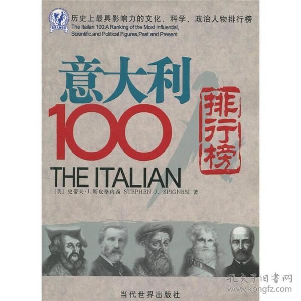 意大利100人排行榜