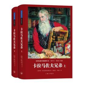 卡拉马佐夫兄弟(上下) [俄] 陀思妥耶夫斯基 著 曾思艺 著 上海三联书店 16开本 精装正版 原封未拆