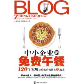 BLOG 中小企业的免费午餐 上海伟雅,指间柔沙 南京出版社 978