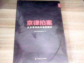 京律拍案 北京律师经典案例解析(第一辑)