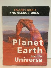 读者文摘版 地球与宇宙知识问答大百科  Readers Digest Knowledge Quest Planet Earth and Universe (自然地理)英文原版书