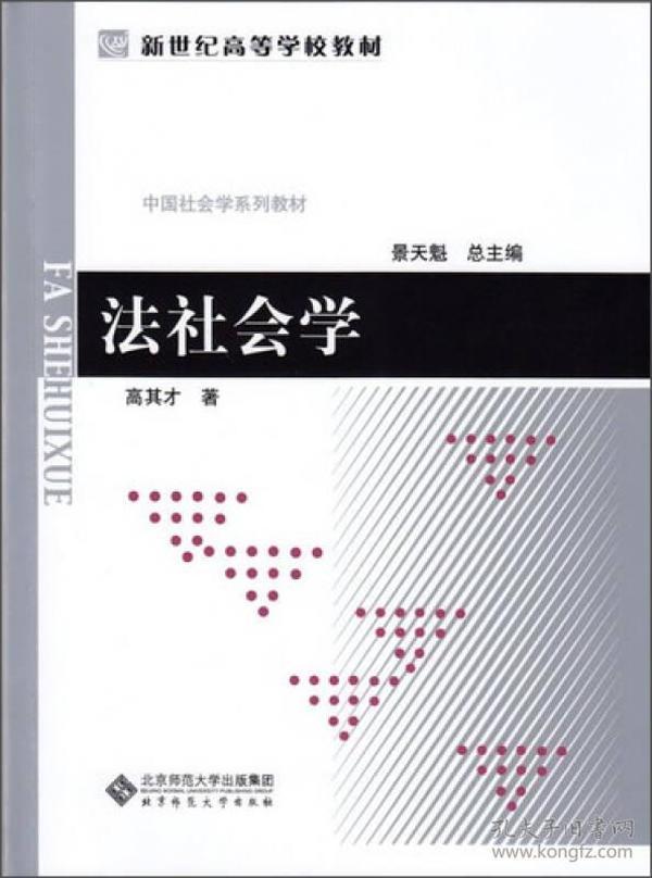 中国社会学教材系列:法社会学