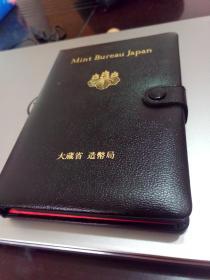 日本 硬币  纪念币  盒装