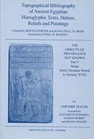 Topographical Bibliography Of Ancient Egyptian Hieroglyphic Texts  Statues  Reliefs And Paintings Vi