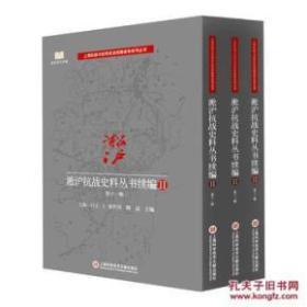 淞沪抗战史料丛书续编Ⅱ( 全11辑13册)