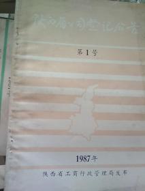 陕西省公司登记公告