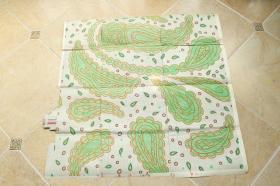 丝织品 芭蕉叶 底稿