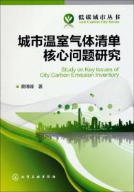 低碳城市丛书:城市温室气体清单核心问题研究