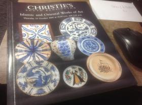 英文版佳士得拍卖图录,1999年10月《伊斯兰和东方艺术作品》,CHRISTIES SOUTH KENSINGTON ,ISLAMIC AND ORIENTAL WORKS OF ART