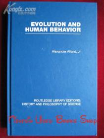 Evolution and Human Behavior: An Introduction to Darwinian Anthropology(Second Edition: Revised and Expanded)(RLE: History and Philosophy of Science)进化和人类行为:达尔文人类学导论(第2版 修订扩充本)(RLE:科学的历史和哲学 英语原版 精装本)