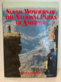 美国国家公园风光 大型画册 Scenic Wonders of the National Parks of America (美国) 英文原版书