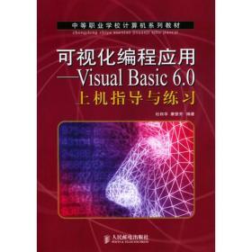 可视化编程应用——Visual Basic 6.0 上机指导与练习