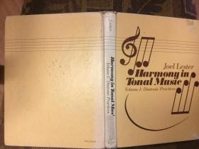 Harmony in Tonal Music调性音乐中的和声,1982精装多乐谱