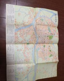广州交通游览图1979年一版一印