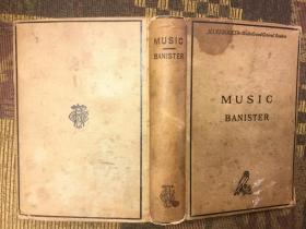 Music by Henry C. Banister 亨利·巴尼斯特《音乐》,1885小开本精装多乐谱,古董级,珍稀