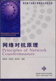 网络对抗原理//现代电子信息工程理论与技术丛书胡建伟