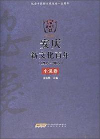 安庆新文化百年(1915-2015) 小说卷