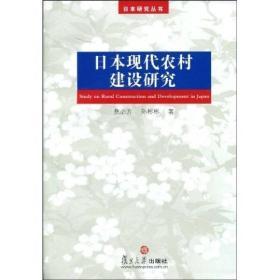 日本研究丛书:日本现代农村建设研究