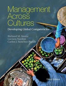 跨文化管理:培养全球竞争力 Management Across Cultures Developing Global Competencies